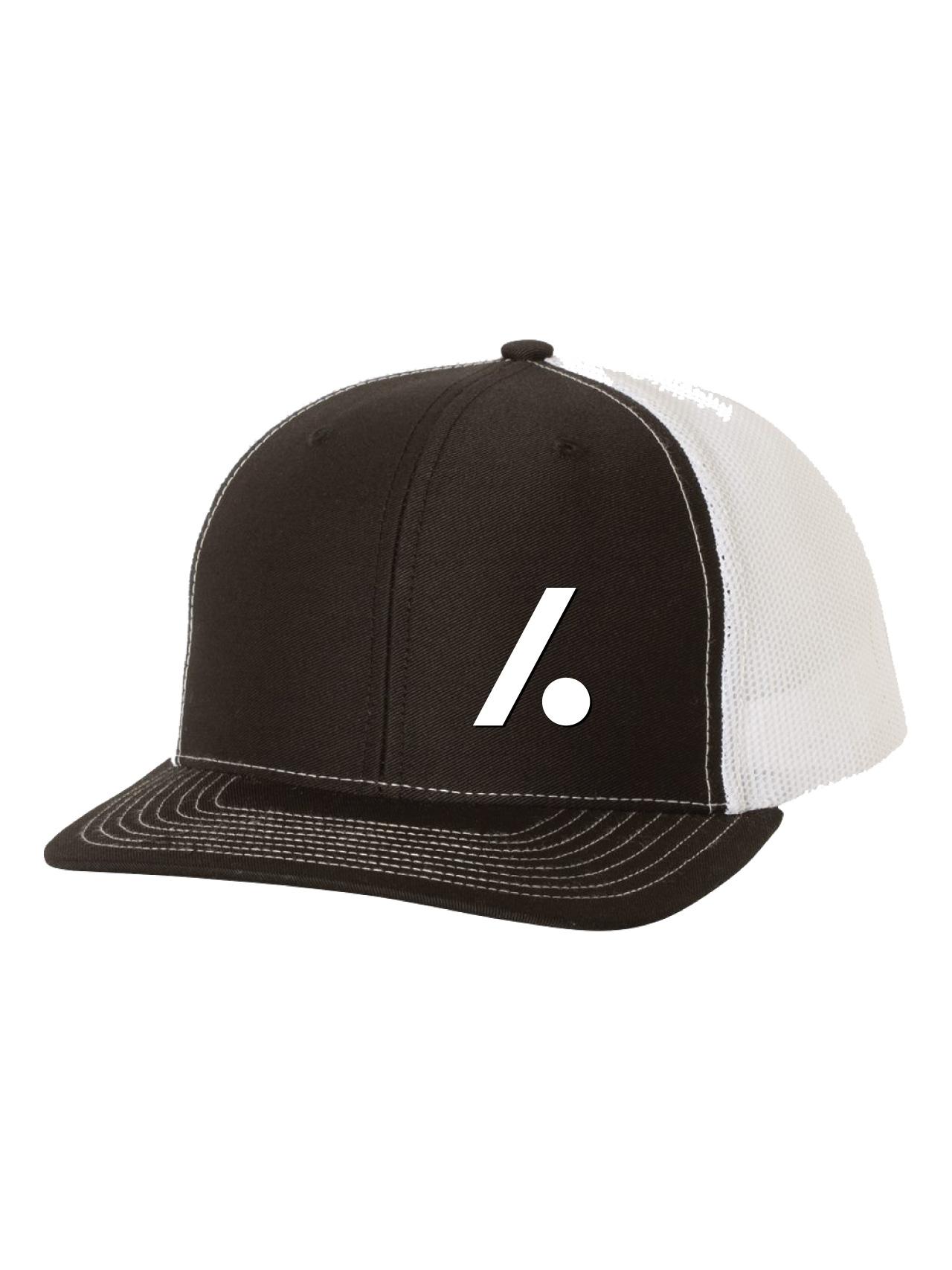 Slashdot Logo Trucker Black and White