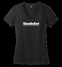 Slashdot-Women's-V-Neck