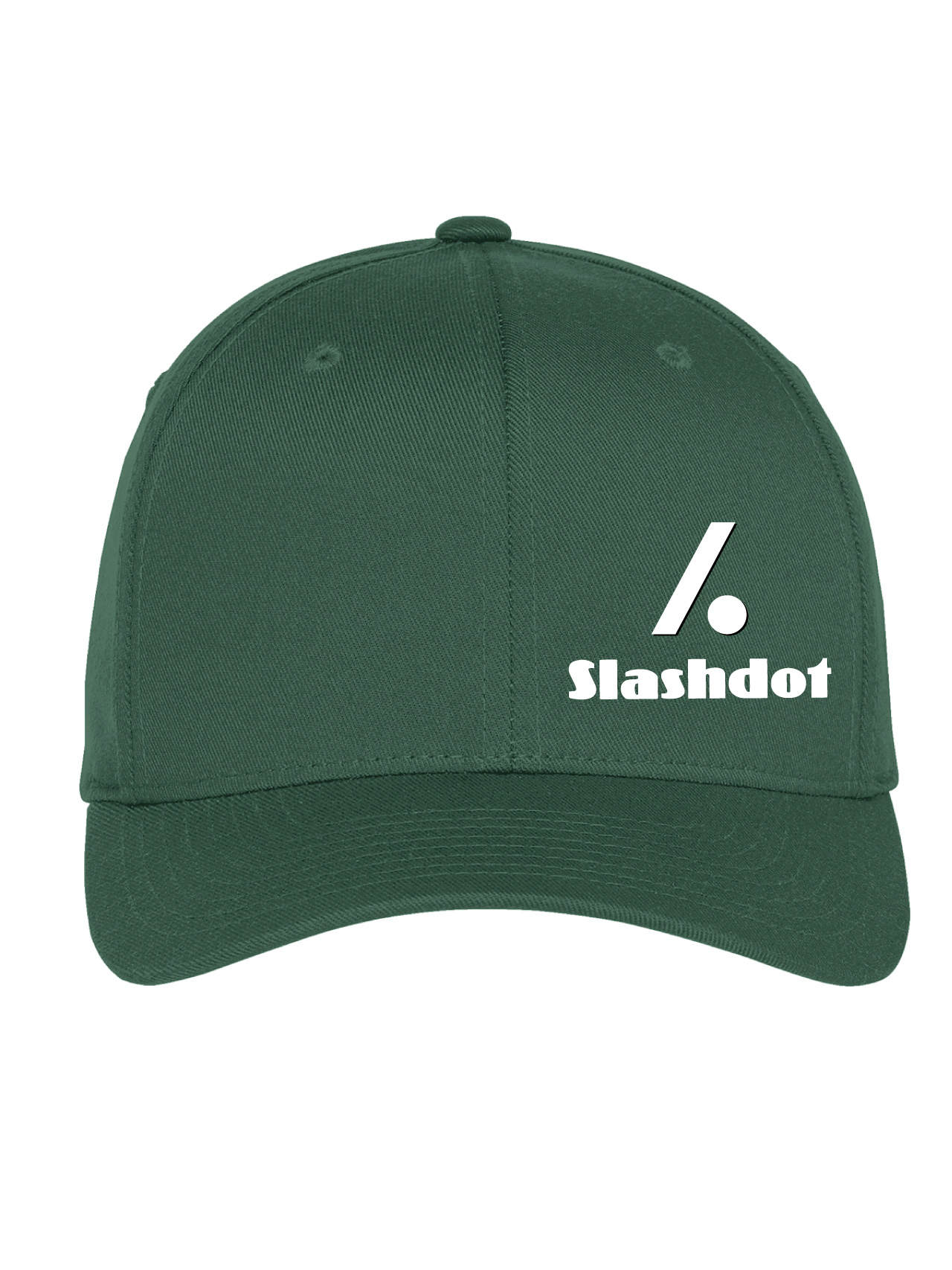 Slashdot Green Flexfit Cap