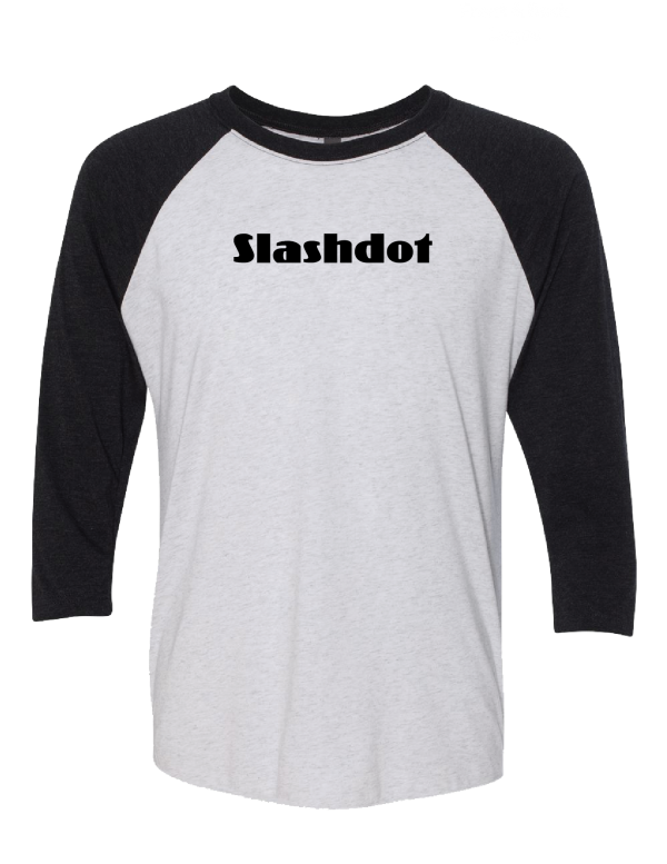 Slashdot Baseball T-shirt